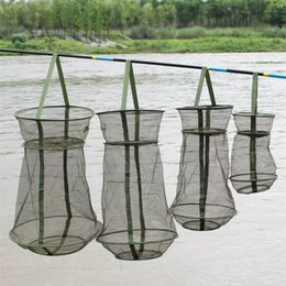 Fish protect online shopping - Classic Protect Fish Net Folding Creative Fishing Accessories Durable Fast Drying Portable Small Fishs Care With Belt Lock sg4 jj