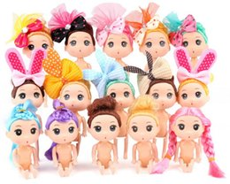 Figure Cake NZ - Cartoon Movies Mini Doll Fairy Princess Model Doll Toys Home Decoration Action Figures Party Cake Girl Children Gift