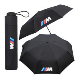 Großhandel Automatischer Falten-Regenschirm M Logo-Emblem für BMW E46 E90 E30 E60 X1 X3 X5 X6 E36 F30 F20 F10 E30 E34