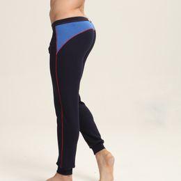Yeni Erkekler Pamuk kalınlaşmış Paçalı Don Tayt Kış Sıcak Pantolon Kalın Termal Iç Çamaşırı Tayt Boyutu M L XL XXL