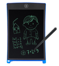 Discount drawing tablets - 100pcs 8.5inch Writing Tablet Handwriting Pad Digital Drawing Board Graphics Paperless Notepad Screen Clear Function Wit