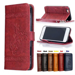 $enCountryForm.capitalKeyWord Australia - 2017 Fashion Flower Flip Wallet Leather Case For Iphone 6 6S Plus I6 Photo Frame Cards Stand Pouch TPU Cell Phone Bag Cover