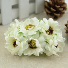 $enCountryForm.capitalKeyWord Canada - 12Pcs Lot Mini Artificial Silk Rose Flower Bouquet For Wedding Car Decoration Box Crafts Supplies Scrapbooking Cheap Fake Flower