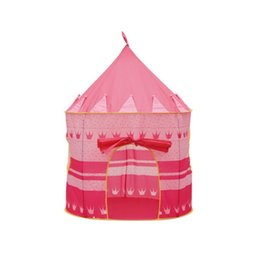 TenTs house online shopping - Mongolian Yurts Game House Prince Princess High Quality Toy Tent For Children Indoor Creeping Houses Games Castle ly W