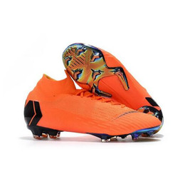 2018 High Soccer Shoes Mercurial Superfly SuperflyX VI 6 Academy 360 Elite  FG TF IC Mens Women Boys CR7 Football Boots Soccer Cleats Ronaldo d65027a2fc