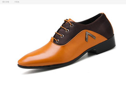 Chinese  Factory direct supply 2018 new men's dress shoes cross-border large size with pointed men's shoes Big Size 45 46 47 48 manufacturers