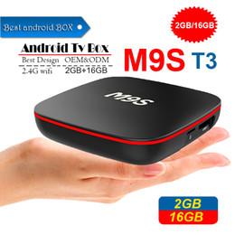 $enCountryForm.capitalKeyWord Australia - Factory OEM ODM New M9S T3 Allwinner H3 Android TV Box 2GB 16GB Quad Core 2.4G WiFi 4K IPTV Android Smart media player BETTER TX3 X96 MINI