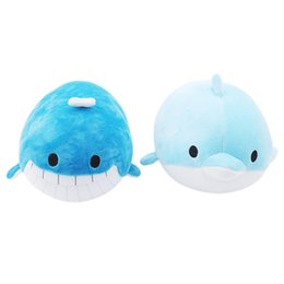 China Lovely Plush Doll Toys Super Cute Plush Toy Soft Sea Animal Dolphin Whale Nano Doll Great Birthday Christmas Gift for Kids supplier dolphins toy doll suppliers