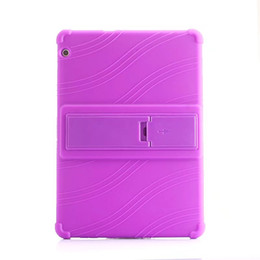 Chinese  50pcs Soft Silicone Rubber TPU Back Cover for Huawei MediaPad T3 10 AGS-W09 AGS-L09 Honor Play Pad 2 9.6 inch Tablet Case with Stand manufacturers