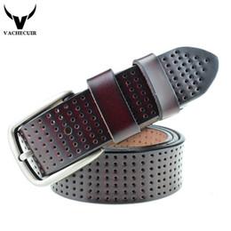 $enCountryForm.capitalKeyWord Canada - 2017 Brand Designer Mens Belt Luxury High Quality Genuine Leather Belts For Men Metal Pin Buckle Man Split Leather Male Strap