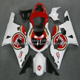 $enCountryForm.capitalKeyWord UK - 5Gifts+Custom ABS red white Fairing For Suzuki GSX-R600750 2001 2002 2003 GSXR 600 R750 K1 motorcycle plastic kit