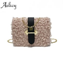 Fake bags online shopping - Aelicy Luxury Small Designer Chain Women Bag  Women Leather Messenger Bags 107eb9a646e36