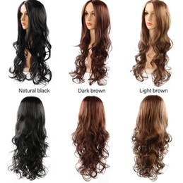 $enCountryForm.capitalKeyWord Canada - Explosion models Europe and America wigs women wig hair multi-color medium and long hair chemistry wigs sex doll
