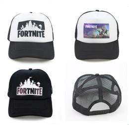 2baa58422b155 Fortnite Trucker Cap Hat Game Fortnight Fans Mesh Caps Summer Breathable  Baseball Net Cap HipHop Hat for Men Women Outdoor Sun Quick-dry Hat
