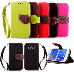 $enCountryForm.capitalKeyWord Australia - For Samsung Galaxy Ace 4 G357 Case PU Leather Cover Leaf Flip Wallet Card Money Holder Strong Removable Hand Strap