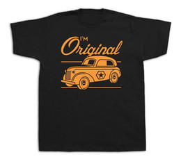 green police car Australia - I am original police van vintage retro car funny T shirts sketch hot rod teeMens 2018 fashion Brand T Shirt O-Neck