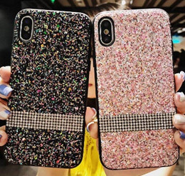 wholesale bling cell phone cases UK - Cell Phone case Premium bling Luxury Diamond Rhinestone Glitter Phone Case For iPhone 11promax XR XS MAX X 8 7Samsung s20+ free ship