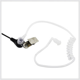 Wholesale 2 Pin Covert Acoustic Tube Earpiece Headset for Kenwood Puxing Wouxun Baofeng Two Way Radio pin