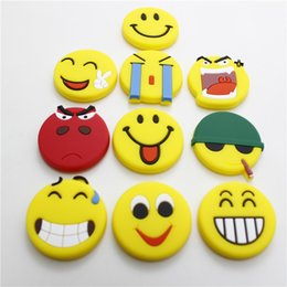 $enCountryForm.capitalKeyWord NZ - DHL 500PCS Soft PVC Smile Face Small Gift Funny Cartoon Magnetic Stickers Fridge Magnet Emoji Pattern Magnets Cartoon Stickers Kids Gift