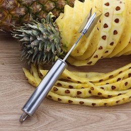 $enCountryForm.capitalKeyWord NZ - High quality V-shaped pineapple peelers knife Pineapple Corer slicers easy cutter Fruit Salad Tools kitchen accessories