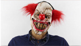Wholesale Latex Clown Masks Halloween Costumes Men Women Kids Party Cosplay Masks Costume Accessories Funny Scary Masks
