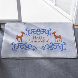 kitchen floor mats rugs NZ - Crown Water Absorption Floor Mat Anti-slip Bath Water Absorption Floor Mat Living Room Mat Floor Carpet Material Blending Rugs For Kitchen