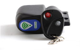 Chinese  Free Shipping Bicycle Wireless Remote Control Anti-Theft Alarm Lock Shock Vibration Sensor Bicycle Bike Security Cycling Bike Lock manufacturers