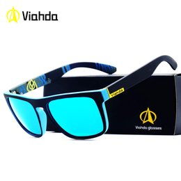 4702e3f1ad Viahda 2018 New Brand Squared Polarized Sunglasses Men Top Quality Male Sun Glasses  Driving Fashion Travel Eyewear UV400