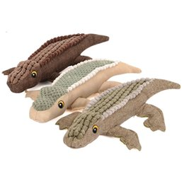 Interactive Sound Toys NZ - Hight Quality Funny Crocodile-shaped Interactive Pet Dog Sound Squeaky Toys Plush Dog Chew Toy Pet Supplies