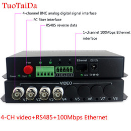$enCountryForm.capitalKeyWord NZ - 4-ch video with RS485 RJ45 Ethernet Transmitter & Receiver 4 channel fiber optic media converter FC 20KM
