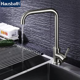 Quality kitchen taps online shopping - Kitchen Faucet Mixer Tap Sink Stainless Steel Single Handle Rotate Faucets Degree Hot Cold Water Tap Faucet High Quality