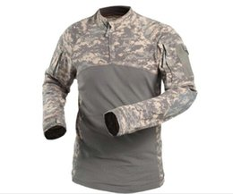 $enCountryForm.capitalKeyWord Canada - New Arrivals Airsoft Combat Shirts For Outdoor Hunting Cotton Made Elastic Long Sleeves Sports Tactical T-shirts