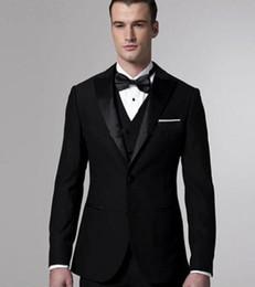 best party dress image man 2018 - Handsome Men Suits 2017 Simple Fashion Groomsman Wedding Suits Best Men's Dinner Party Dress (Jacket+Pants+Vest+Tie