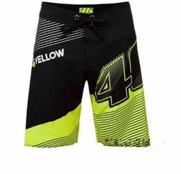 Nuevos Pantalones de carreras de secado rápido Modelos de verano Pantalones cortos para motociclistas Hombres MOTO GP Pantalones cortos VR 46