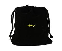 China 50pcs lot 5*7cm 7*9 9*12cm 10*15 13*18 20*30cm Velvet Bag Drawstring Pouch Black Jewelry Packing Bags Wedding Christmas Gift Bag suppliers
