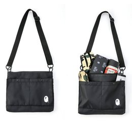 Wholesale 2018 Ape Japan Canvas Tote Bag Outdoor Packs Computer Bag Messenger Bags Fitness Stuff Sacks Luggage School Messenger Aape