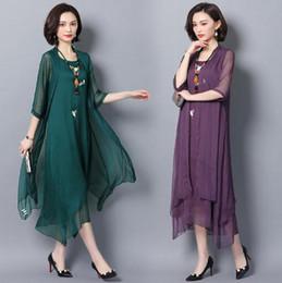 b66675f8a0a Robe d été nouveau style brodé style chinois robe des femmes