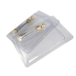 $enCountryForm.capitalKeyWord UK - Vape carts Brass Knuckle Gold Pyrex Glass BHO Cartridges Huge Vapor atomizer Thick Oil 92A3 with clamshell packing For 510 vaporizer pen