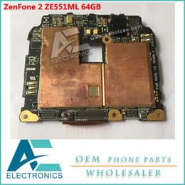 Motherboard Mainboard Canada - 64GB 32GB 16GB Rom Motherboard Mainboard Logic Board Circuits for ASUS ZenFone 2 ZE551ML