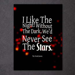 Canvas Quote Prints line Shopping