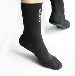 Scuba Diving Boots NZ - Men's 3mm Neoprene Diving Socks Belt Scuba Snorkeling Boots Prevent Scratched Non-slip Swim Seaside Shoes