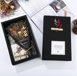 Boxed birthday greeting cards online shopping boxed birthday creative dried flowers greeting card box birthday gift card lover grass valentines day blessing brithday gifts mothers day gifts m4hsunfo
