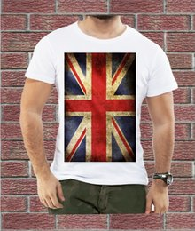 Jack Gifts Australia - Union Jack British Flag Vintage Retro UK Cool MEN T SHIRT BIRTHDAY CASUAL Gift Cool Casual pride t shirt men Unisex New
