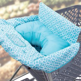 Wholesale New Children Kids Baby Shopping Cart Cover Baby High Dining Chair  Soft Seat Cushion Easy To Be Folding