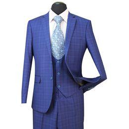 China STOCK IN USA 2018 Tuxedos Suits Men Wedding Suit Slim Fit Business Groom Suit Set Dress Suits Tuxedo For Men (Jacket+Pants+Vest) ST005 cheap wedding dresses for groom suppliers
