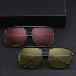8800be9110f Super Sunglasses Flat Top Australia - Flat Top Hot Square Sunglasses Men  Women Luxury Brand Design