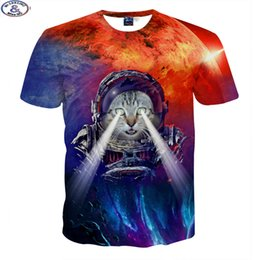 $enCountryForm.capitalKeyWord NZ - Fashion Cute Super Powers Cartoon Cat 3d T -Shirt For Boys Fashion Girls 3d T Shirt Big Kids 6 -18 Years T Shirt A9