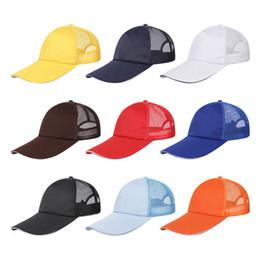 92794826429 Blank Baseball Caps Trucker Hats Adjustable Snapback Caps For Adults Mens  Womens Custom Mesh Sun Visor Many Styles
