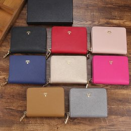 Luxury designer waLLet case online shopping - Cosmetic Bags Designer Genuine Leather Wallets for Women Famous Brand Purse Fashion Ladies Card Holder Case Bags Luxury Clutch Bags