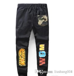 $enCountryForm.capitalKeyWord Australia - APUU Spot the summer new tide men's casual pants printed thin section of the pants men and women feet trousers